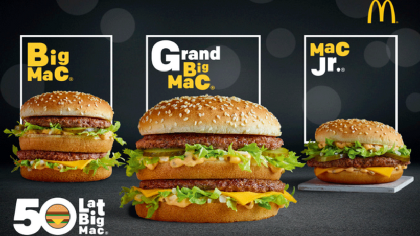 great mac for pln 5 promoting mcdonalds for the 50th anniversary