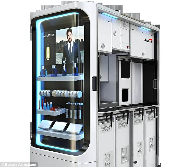 Bucher Aerospace - snack machine