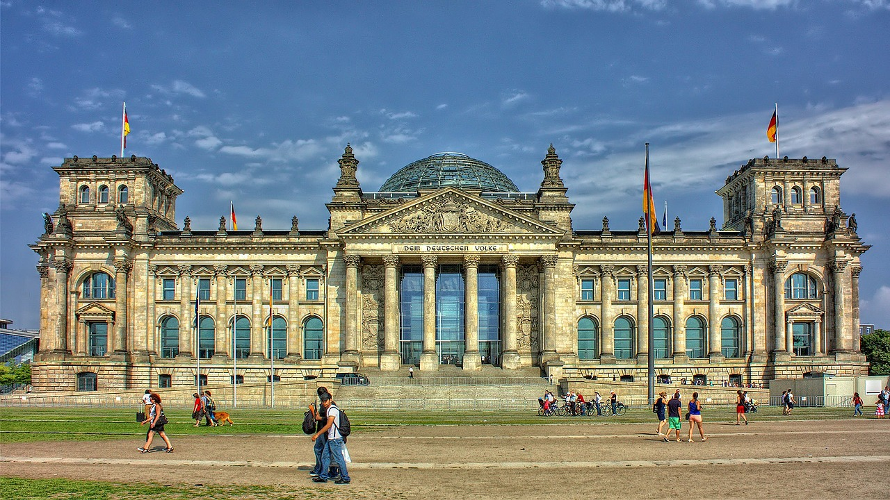 Reichstag - parlament Berlina
