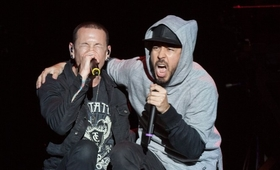 Chester Bennington Mike Shinoda Linkin Park