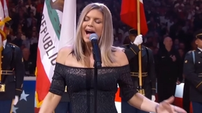 Fergie 2018 NBA All-Star Game