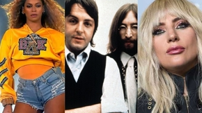 Beyonce The Beatles Lady Gaga