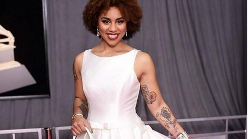 Joy Villa na Grammy Awards 2018 sukienka