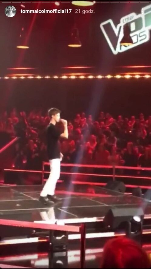 tomek malcolm the voice kids
