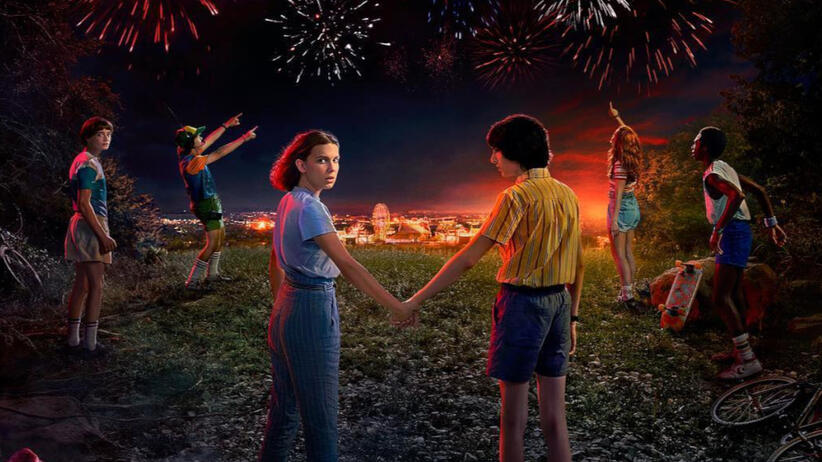 """Materiały promujace serial """"Stranger Things"""""""