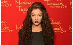 Lorde w Madame Tussauds Hollywood